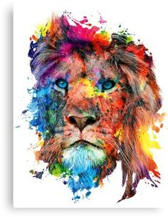 New tattoo watercolor lion art prints Ideas Lion Wall Art, Lion Art, Tableau Pop Art, Watercolor Lion, Tattoo Watercolor, Watercolor Painting, Lion Poster, Lion Painting, Lion Wallpaper
