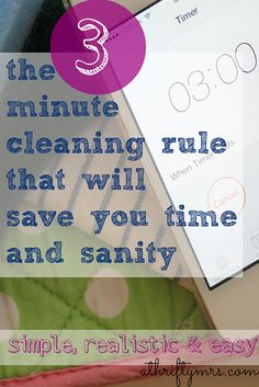 This cleaning tip will make you rethink your cleaning routine and save yourself time and hassle! | A Thrifty Mrs