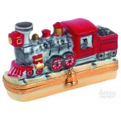 Locomotive Artoria Limoges Box.