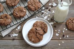 """""""Coconut Oatmeal Chocolate Chip Cookies & Silpat Giveaway"""" from @Maria Canavello Mrasek (Two Peas and Their Pod)"""