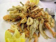 pesce fritto alla veneta..tutto pesce del mar adriatico