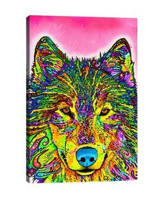 Dean Russo Gallery Wolf Canvas Print, http://www.myhabit.com/redirect/ref=qd_sw_dp_pi_li?url=http%3A%2F%2Fwww.myhabit.com%2Fdp%2FB00PLNJMXW%3F