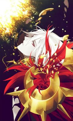 Fate/Apocrypha || Fate/Extra CCC || Karna (Lancer/Launcher) || Lancer of Red || entry by Alice on ZeroChan
