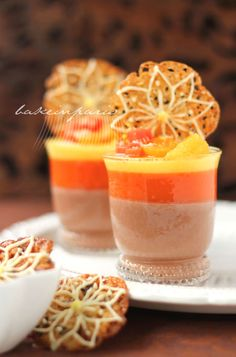 three layers pannacotta. Yum! #food #recipe