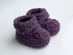 Hey, I found this really awesome Etsy listing at http://www.etsy.com/listing/62776452/baby-booties-crochet-baby-booties-baby