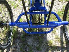 True Bicycles  Quest Recumbent Trike Blue