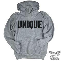 Unique Hoodie. Unisex Hooded Sweater.