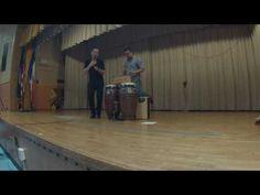 Samuel Torres & Max Pollak log drum duo
