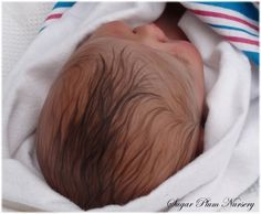 painted hair on reborn dolls - Google Search