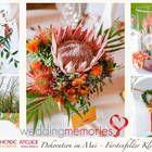 Afrikanisches Dekokonzept Hochzeit Dekoration Floristin Das blühende Atelier Maria Irlbeck München