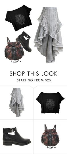 """""""little bit of vintage"""" by a-black-pansy on Polyvore featuring Zimmermann, ASOS and vintage"""