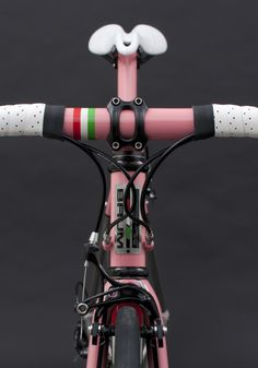 Busyman Custom Leatherwork on Baum's GTB, Rapha Pink, Italia, Corretto