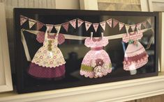 Paper dress display