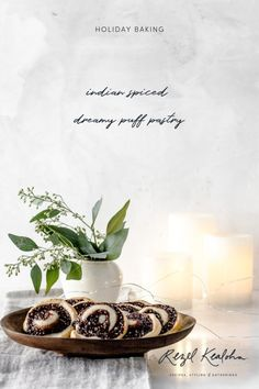 In partnership with Amy's Kitchen, we have created this easy, yet impressive, Indian Spiced Dreamy Puff Pastry Swirls Recipe. Filipino Desserts, Filipino Recipes, Whole Food Recipes, Healthy Recipes, Pastry Recipes, Holiday Baking, Swirls, Food Styling, Food Photography