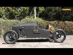 Demarcay von 1922 mit Anzani Motor 1000 ccm Rennwagen Racing Car Cyclecar Racing Video