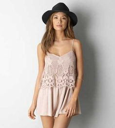 Aeo Tiered Babydoll Dress A Boho Inspired Made For Warm Days Aeostyle Dresses Pinterest And Clothes