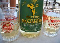 greichischer Retsina Wein