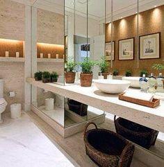 bancada de banheiro
