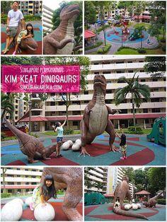 * * Sakura Haruka | Singapore Parenting and Lifestyle Blog * *: Wordless Wednesday {linky}: Singapore Playgrounds - Kim Keat Dinosaurs | Week 1