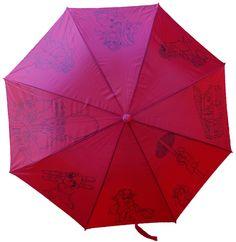 Umbrella with firemen