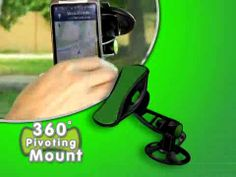 GripGo Hands Free Phone and GPS Car Mount
