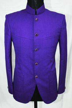 Blue Bandh Gala Jacket