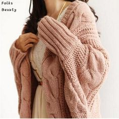 Available Now on our store:  Autumn Winter Kni... Check it out here ! http://mamirsexpress.com/products/autumn-winter-knitted-cardigans-coat-women-2015-fashion-long-sleeve-batwing-poncho-sweater-beautiful-womans-crochet-cardigan?utm_campaign=social_autopilot&utm_source=pin&utm_medium=pin