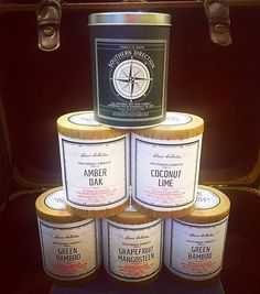 @shopinbliss  Southern Firefly Candle Co candles are made close to home in Nashville TN! With a burn time of over 50 hours these are a must have! #shoplocal #knoxville #nashville #shopinbliss