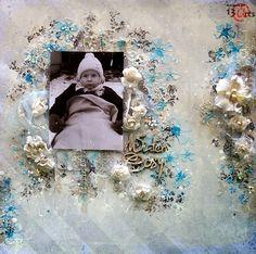 13arts: Cosy Winter - layout by Anna Rogalska