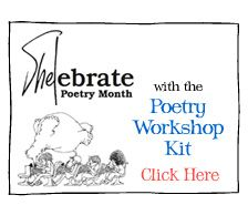 April is Poetry Month.  Have a fun time teaching or writing your own poetry using this kit.