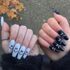 Edgy Nails, Grunge Nails, Funky Nails, Dope Nails, Stylish Nails, Swag Nails, Edgy Nail Art, Crazy Nails, Black Nails