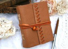 Caramel Leather Notebook