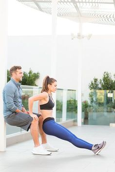 Sweat Together Couples Workout is part of Fit couples - The couple that sweats together, STAYS together, right ! Here's a workout you can do with your significant other or BFF Couple Workout Together, Gym Couple, Fitness Workouts, Easy Workouts, Men Workouts, Fitness Memes, Fitness Shirts, Workout Fitness, Sports Couples