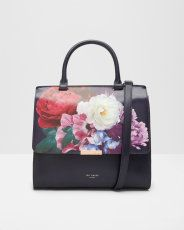 Blushing Bouquet leather bag
