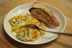 Scottish Farmhouse Eggs...This is the kind of brunch you might devour after working up an appetite traipsing about the Scottish Highlands all morning (1) From: Food 52, please visit (2) Saved to, Guthrie Scottish Recipes: https://www.pinterest.com/arfamilies/guthrie-scottish-recipes/