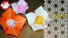 Cette jolie fleur à quatre pétales possède un cœur de la couleur de l'envers du papier. Ce charmant modèle est un origami de Lionel Albertino. Pliez là avec du papier assez fin car vous aurez un peu de mal à réaliser les dernières étapes sinon.  Pour encore plus de vidéos, photos et tutoriels, venez nous visiter sur http://www.senbazuru.fr