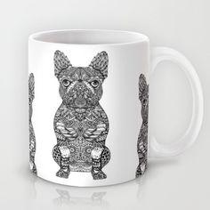 Mandala Frenchie Mug