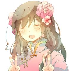Hetalia Taiwan. Idk about you, but I think her outfit is definitely one of my favorites out of the Hetalia cast :)
