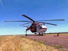 Helitanker 716 Helicopter Transport Svcs Sikorsky CH-54E SkyCrane
