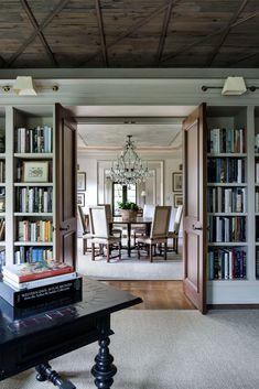 Mediterranean Revival home has drool-worthy interiors in Washington DC Room Divider, Decor, Furniture, Bookcase, Home, Shelves, Mediterranean Revival, Home Decor, Room