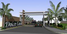 نتيجة بحث الصور عن entrance gate design for township House Front Gate, Front Gates, Entrance Gates, Main Entrance, House Entrance, Gate Wall Design, House Main Gates Design, Entrance Design, House Design