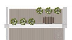 Plano geral jardim na varanda