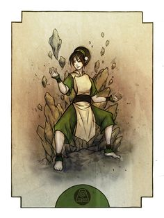 Toph. Earth is the element of substance. by madalynmcleod