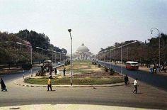 شارع جامعة القاهرة عام 1968 #Egypt ,Cairo