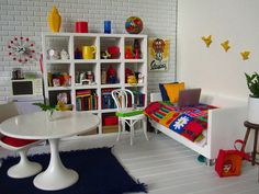 dollhouse miniature teenager room - Google Search