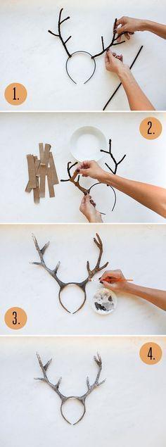 DIY Deer Costume | LaurenConrad.com: …