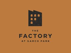 Logo inspiration | #1108, The Factory at Garco Park