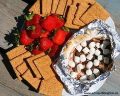 Echoes of Laughter: Campfire S'mores Dip