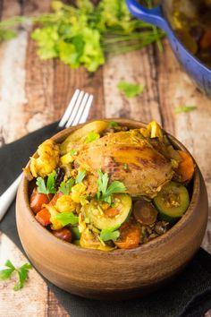 Paleo Chicken & Apricot Tagine — Foraged Dish
