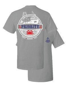 Priority Comfort Color Crab Tshirt  #southernstyle  shop www.southernpalette256.com #southernpalette  #musthave  #getinmycloset  #outfitidea  #2017  #summer  #spring  #boutique
